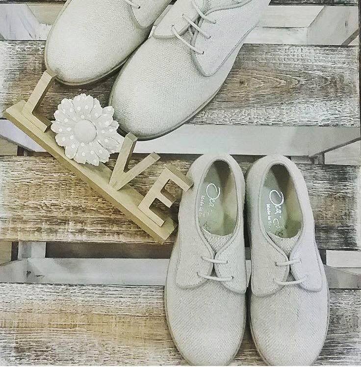 f9456c97e Unos preciosos zapatos blucher de lino