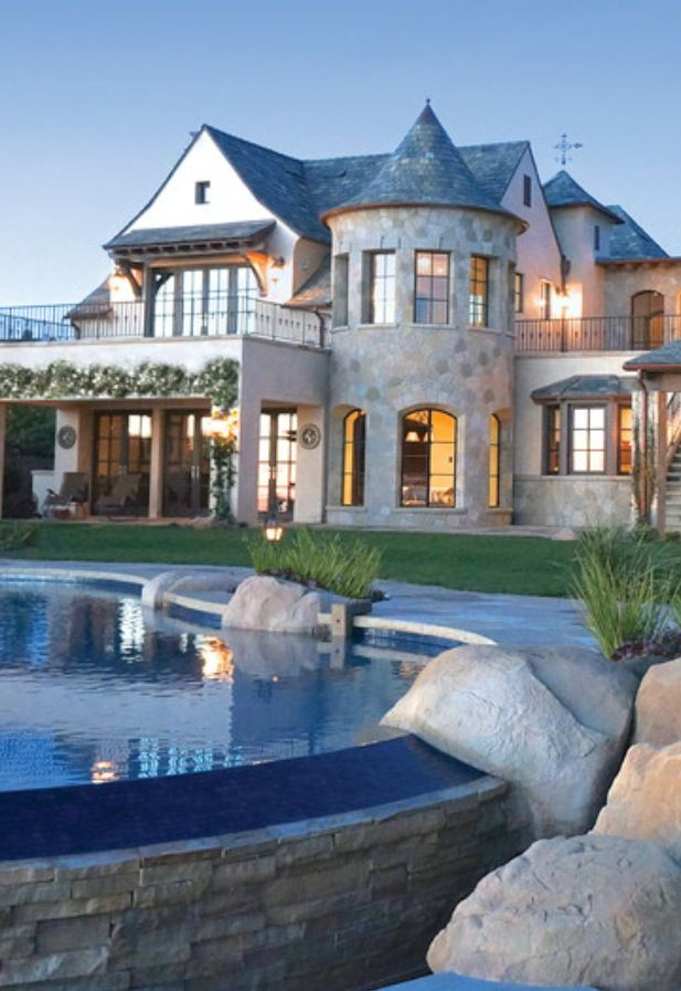 Luxury Home Backyards Pinterest Luxury, Houzz and Pool designs