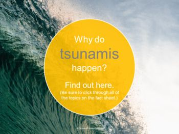 Earthquakes and Tsunamis Webquest (Geology and Earth ...