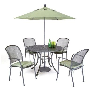 Kettler Caredo 4 Seater Round Mesh Set kettler garden furniture