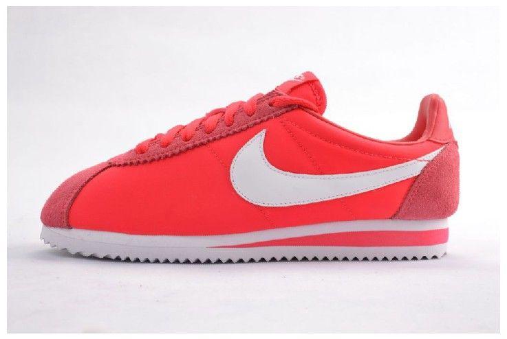 new concept a3705 74930 Commercialisable Nike Cortez Cortez Cortez Oxford Cloth Rouge Alert Femme  Nike 3a83a7
