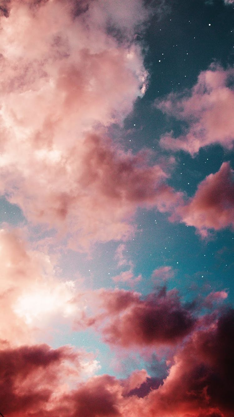 Pin by lexi arechiga on background Pink clouds wallpaper