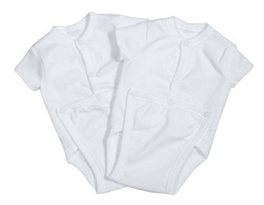 Spasilk Unisex-baby 100/% Cotton Short Sleeve Wrap 2-Pack Bodysuit Newborn