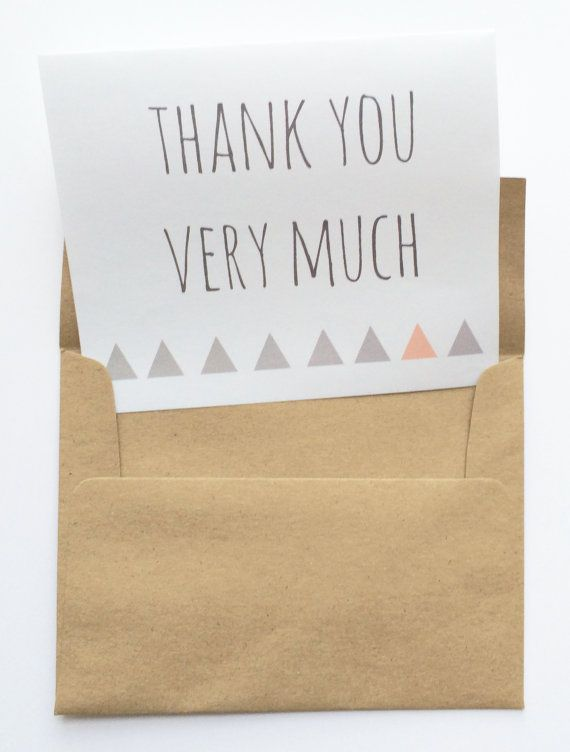 it's time to say thank you to all of your lovely guests