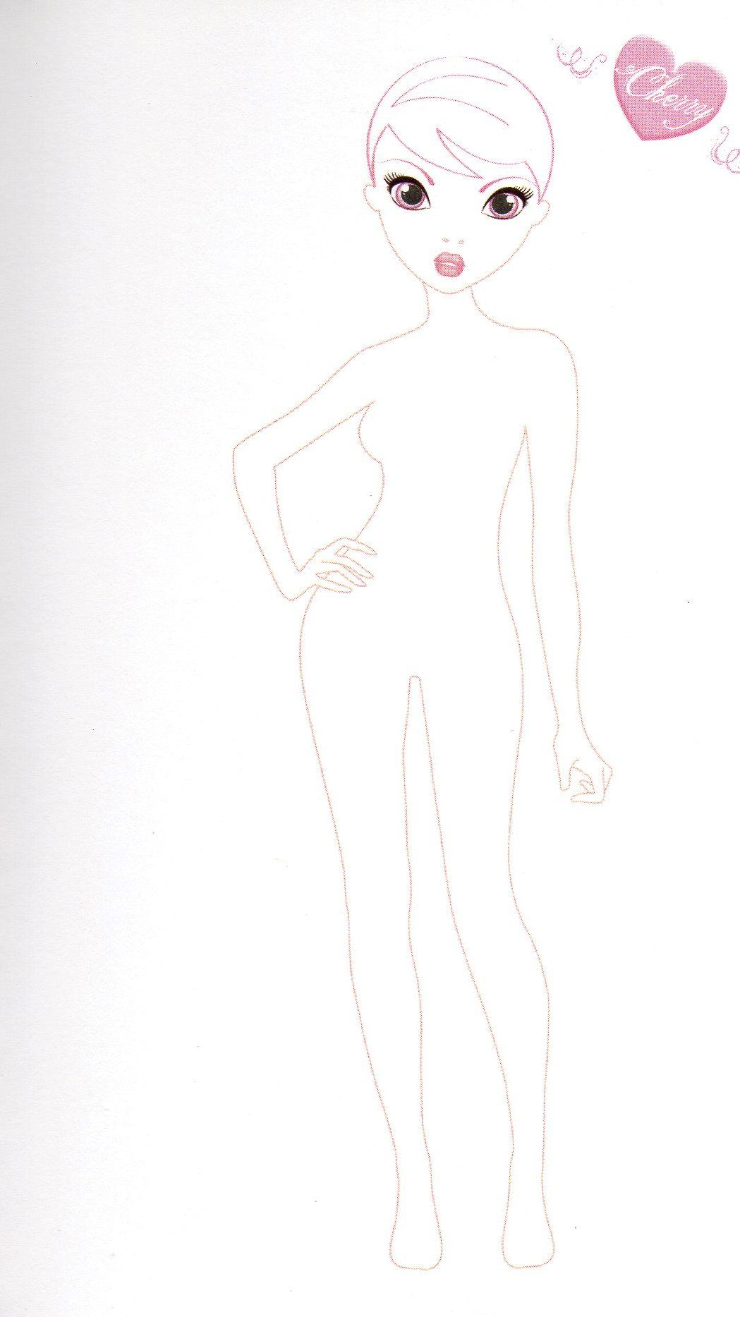 Ausmalbilder Topmodel Talita : Imagina Su Vestuario Top Model Biz Pinterest