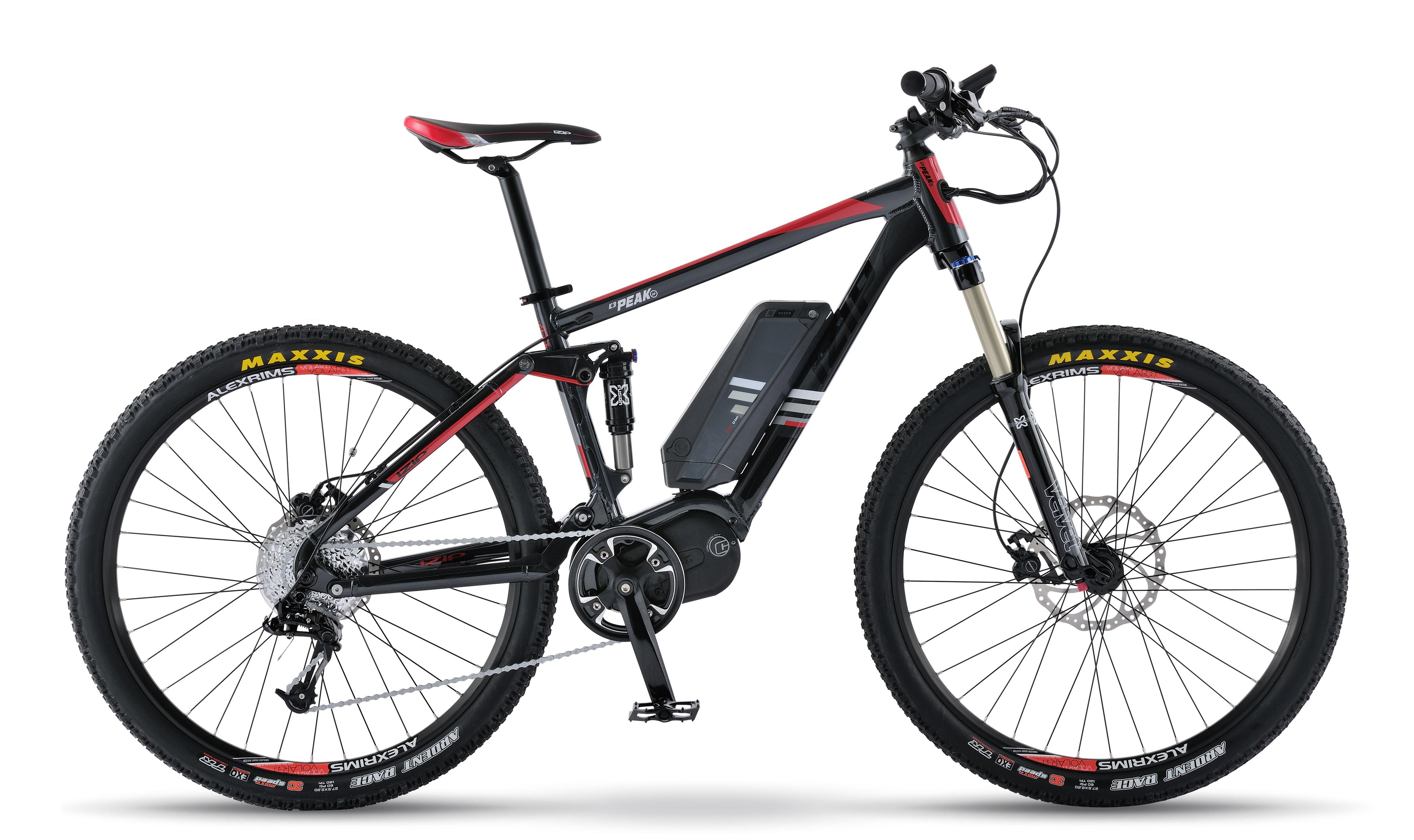 Izip E3 Peak Ds Mtn Electric Bike Electric Bike Bike Technology Dual Suspension Mountain Bike