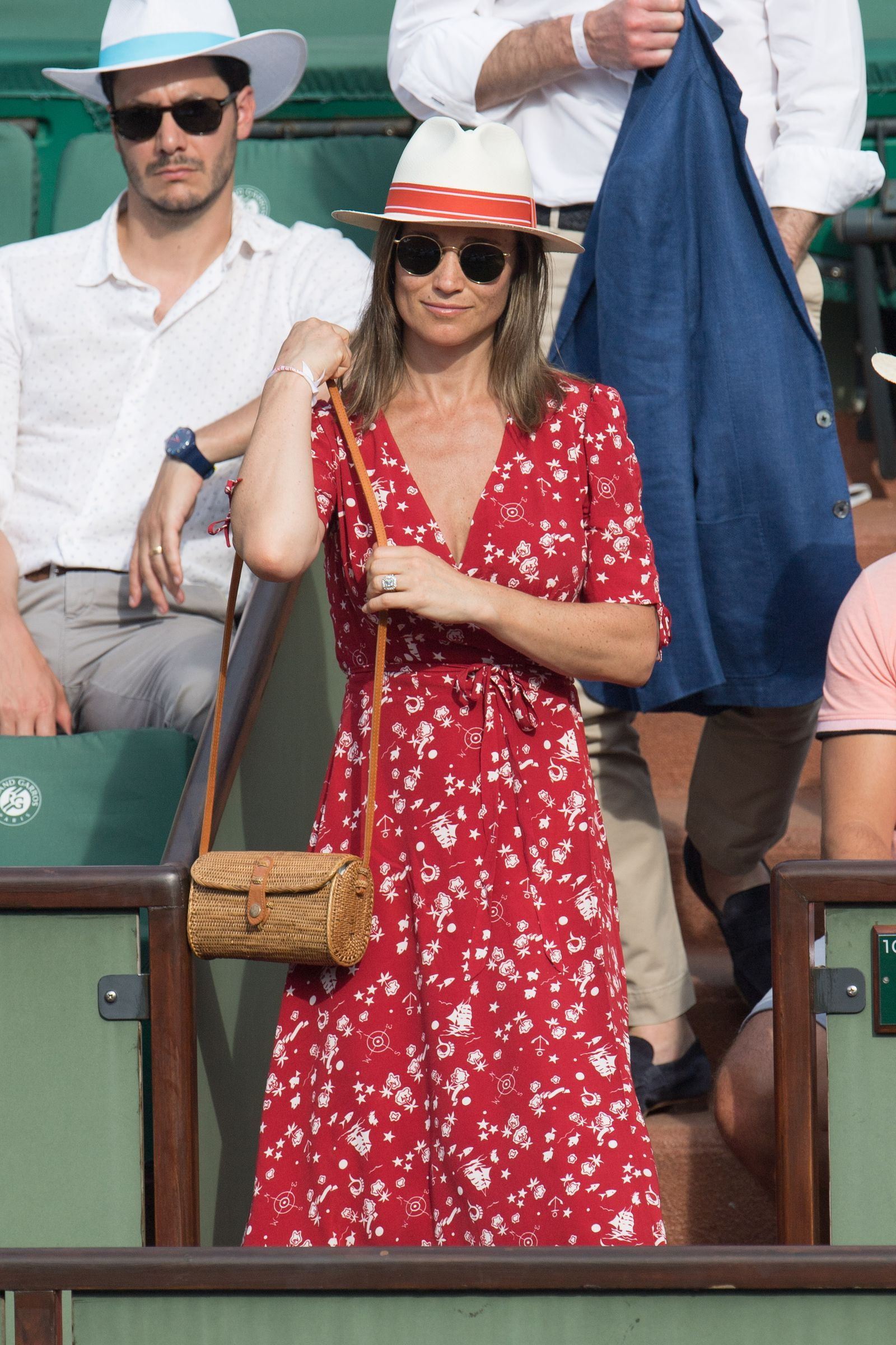 c56d19c738519 Pippa Middleton looked pretty flawless at the French Open- CosmopolitanUK