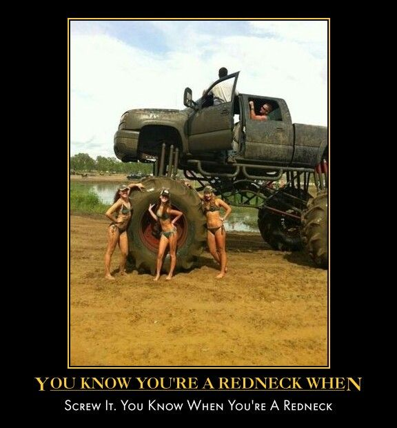 Rednecks. After Seeing This, I Think I Want To Be One