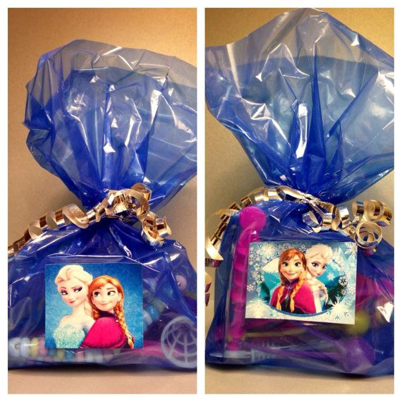 8 Disney Frozen Elsa Anna Treat Favor Kids Birthday Party Loot Candy Gift 8 Bags