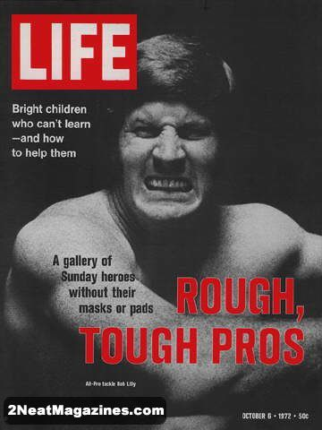 Life magazine october 6 1972 cover football player bob lilly 1972 life magazines for sale life magazine sciox Choice Image