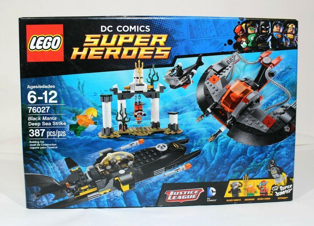 Lego 2015 Sea 76027 Strike Dc Superheroes Deep Black Manta Batman WEY9IDH2