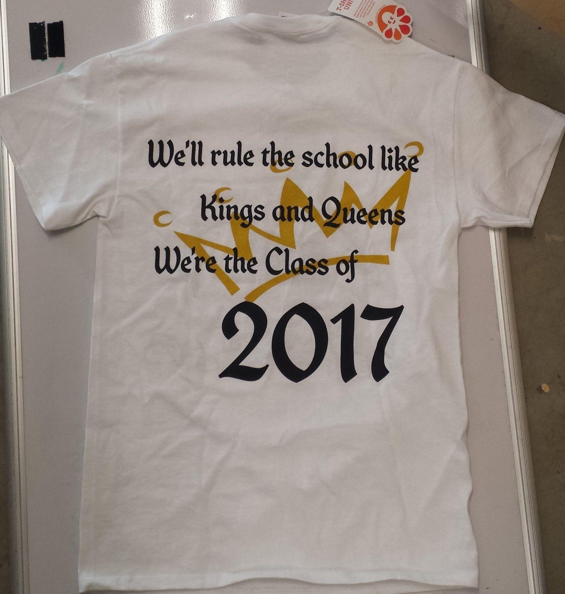 Instead Of 20172016 Class Of 2016 Senior Class Shirts Senior
