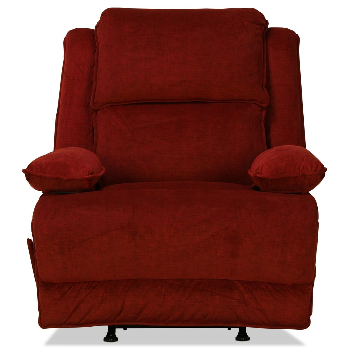 Levin Signature Recliner Red With Images Recliner Rocker Recliners Levin Furniture