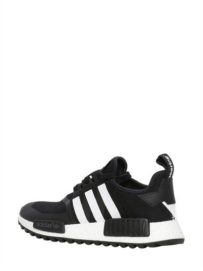 2956faf8aa0e ADIDAS ORIGINALS BY WHITE MOUNTAINEERING - TRAIL R1 NMD PRIMEKNIT BOOST  SNEAKERS - BLACK