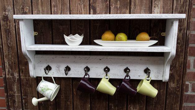 Dieses Küchenregal Im Antik Landhausstil Passt Sich Leicht