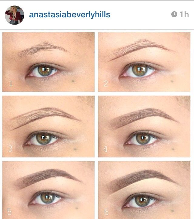 Perfect brows using Anastasia Beverly Hills Dip Brow ...