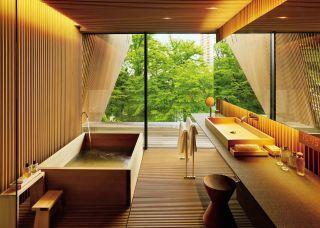 Exotic Bathroom By Mlinaric, Henry U0026 Zervudachi And Kengo Kuma U0026 Associates  In Japan