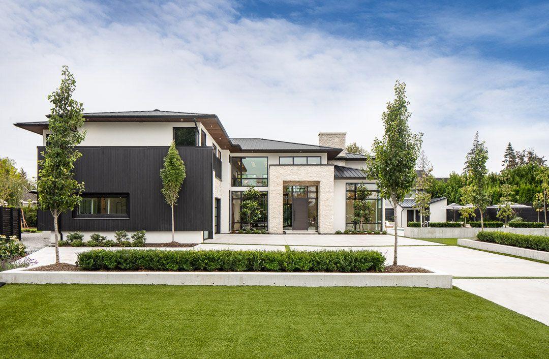 Services Custom Design Su Casa Modern Prairie Home Dream House Exterior Modern Style House Plans