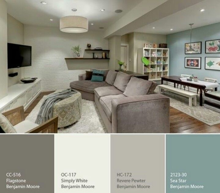 Behr Paint Color Home Basement, Behr Paint Ideas For Living Rooms