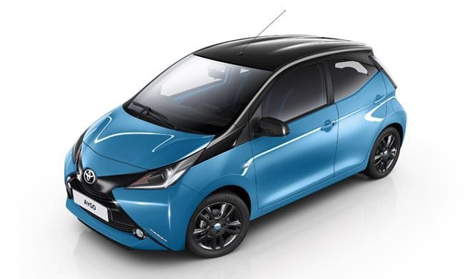 New Cyan Coloured Aygo Coming This Summer Toyota Aygo City Car Toyota Cars