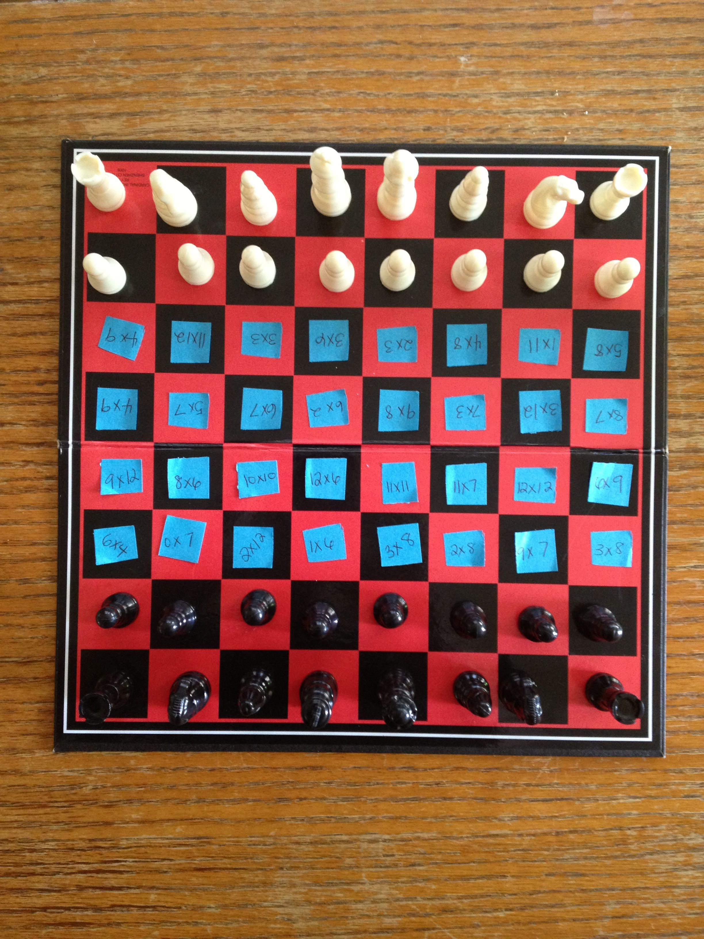 Multiplication chess! | Kids | Pinterest | Multiplication, Classroom ...