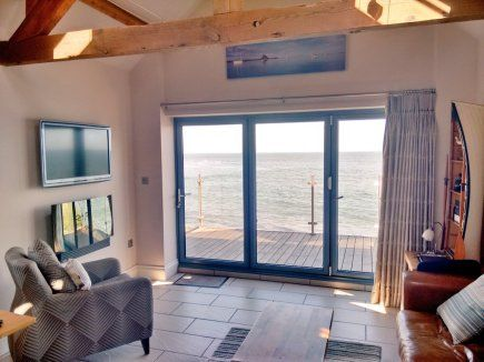 A Modern And Luxurious Beach Cottage For Two Complete With Private Terrace Overlooking Druridge Bay Ideal For Honeymoon Couples Nature Lovers Those