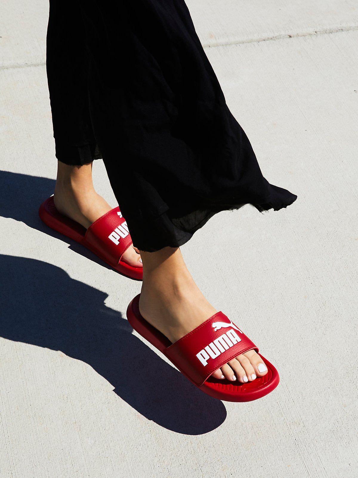 9bfbc0a6bd Puma Popcat Slide Sandal | feetures // | Slide sandals, Sandals ...