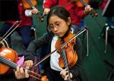 Music training sharpens brain pathways.