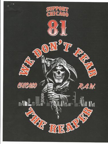 Details about CHICAGO HELLS ANGELS SUPPORT TSHIRT #20B *NEW DESIGN