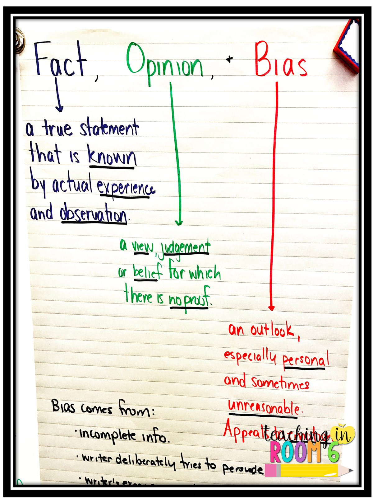 worksheet Fact Opinion Bias Worksheet truth and bias in the boston massacre middle school literacy fact opinion teaching room 6