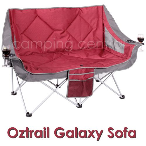 Tremendous Oztrail Galaxy Sofa Double Moon Chair Arms Picnic Camp Gmtry Best Dining Table And Chair Ideas Images Gmtryco