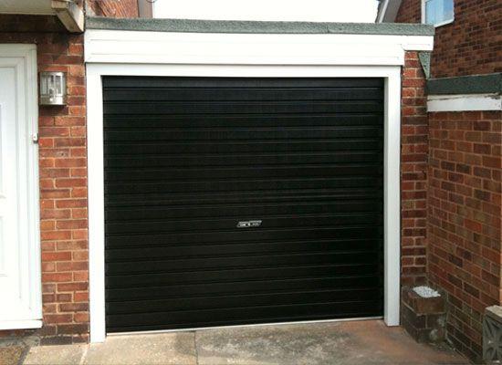 Perfect Image Result For Black Garage Doors