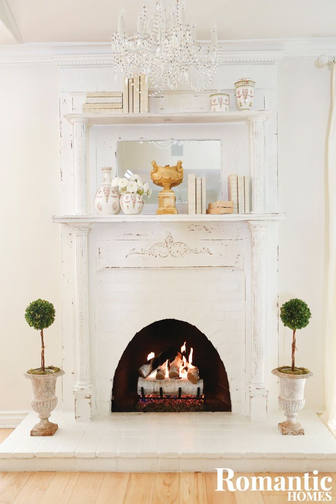 A White Haven with Vintage, Angelic Charm | House tours, Romantic ...