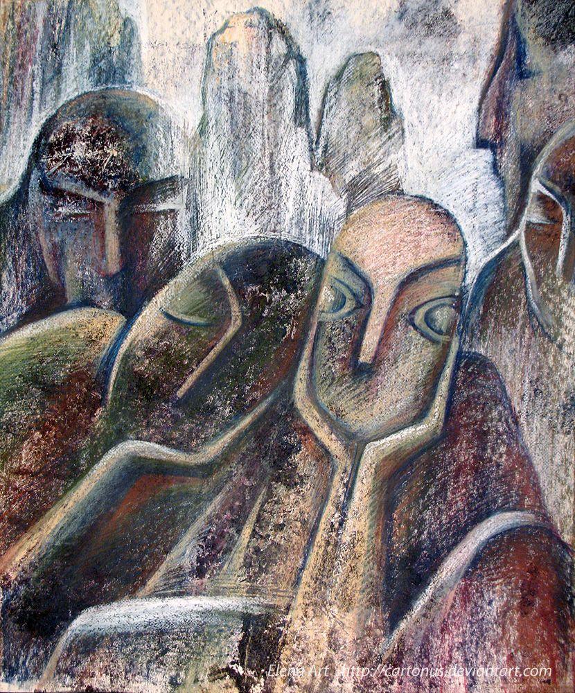 The sleeping stones Valley by cartonus.deviantart.com on @DeviantArt