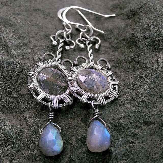 Cassandra - handmade earrings