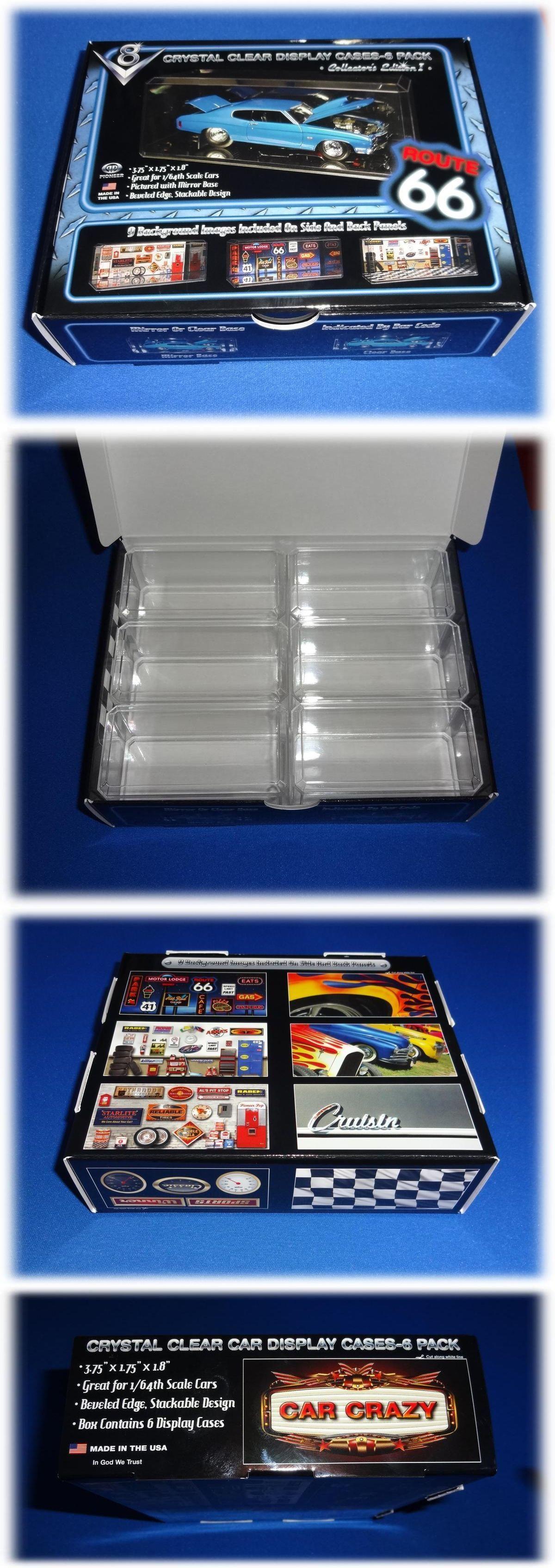 6 New 1 64 Scale Crystal Clear Acrylic Display Cases Matchbox Hot Wheels Nascar Ebay Acrylic Display Case Display Case Clear Acrylic