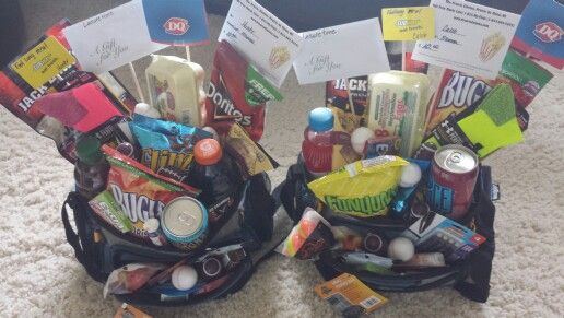 Teenage boys easter baskets tackle boxes filled with their teenage boys easter baskets tackle boxes filled with their favorite treats and other stuff and a negle Gallery