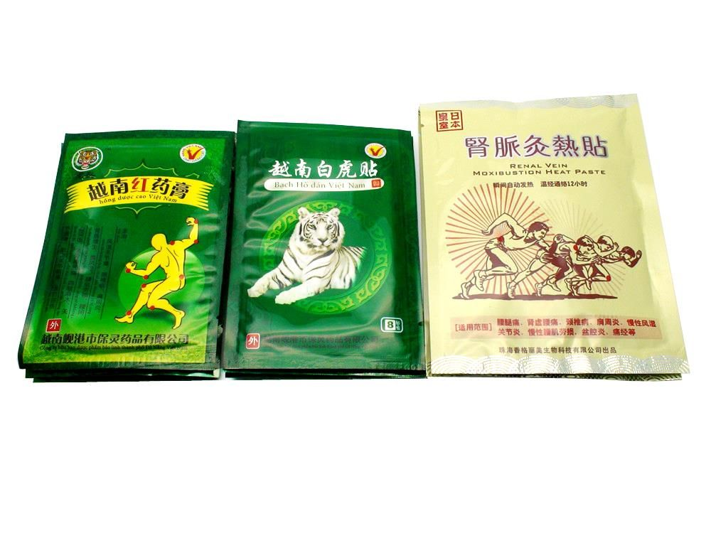 24Pcs Tiger Balm Patch+24Pcs Red Tiger Balm Plaster+2Pcs Chinese Traditional Medical Muscle Neck Pain Relief Plaster D0010
