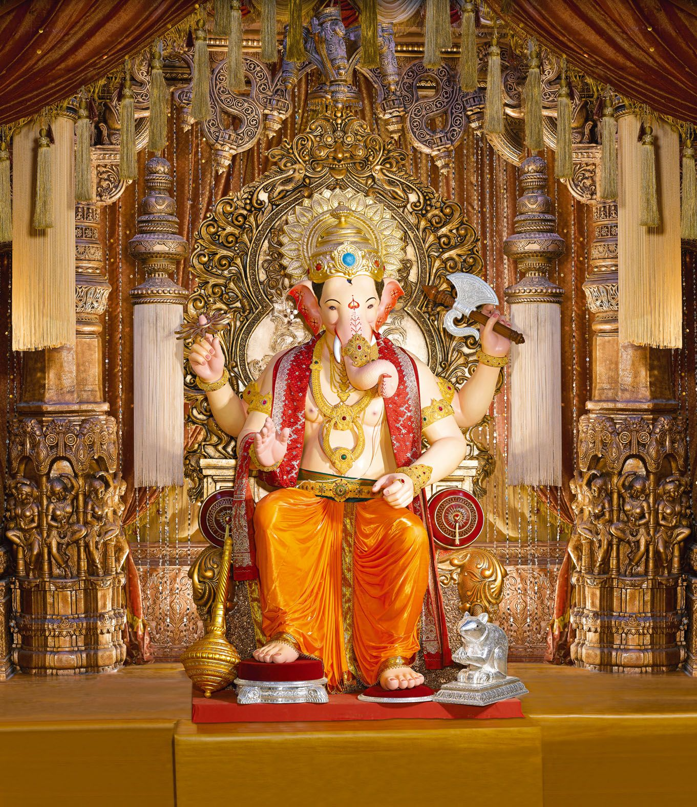 Shri Ganesh Hd Wallpaper: Ganesha Fine New Full HD Wallpapers