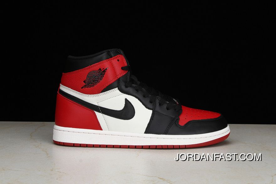 b11d90af96bc Were Pure Air Jordan 1 Retro High OGBred Toe AJ 1 New Black Toes Also Shoes