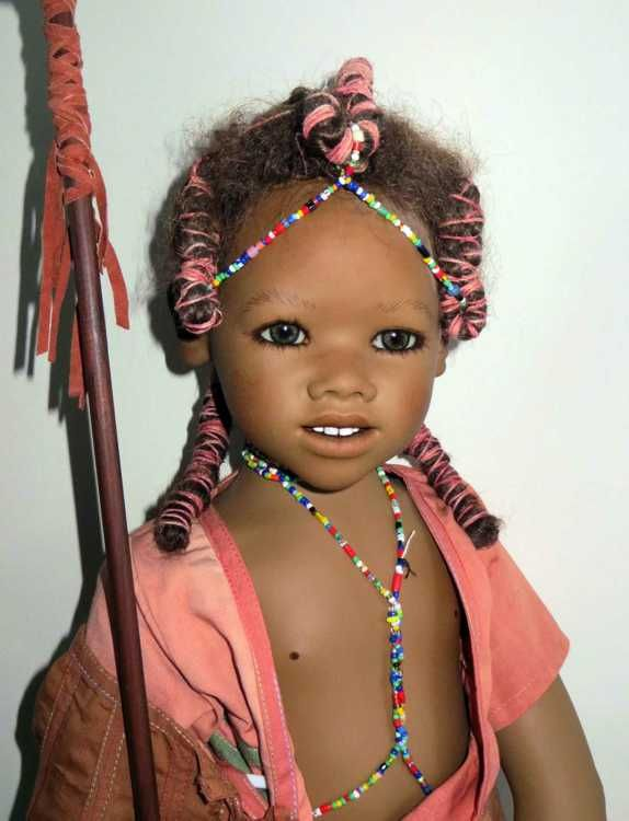 The latest doll designs from Annette Himstedt