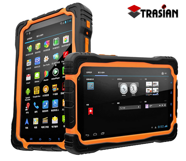Rugged Tablet PC with IP 67 waterproof casing can be