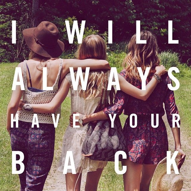 I Will Always Have Jessicau0027s And Neydau0027s Back 4 Ever And Thatu0027s A Promise.  Best Friend Sister QuotesMy Best FriendFriends ...