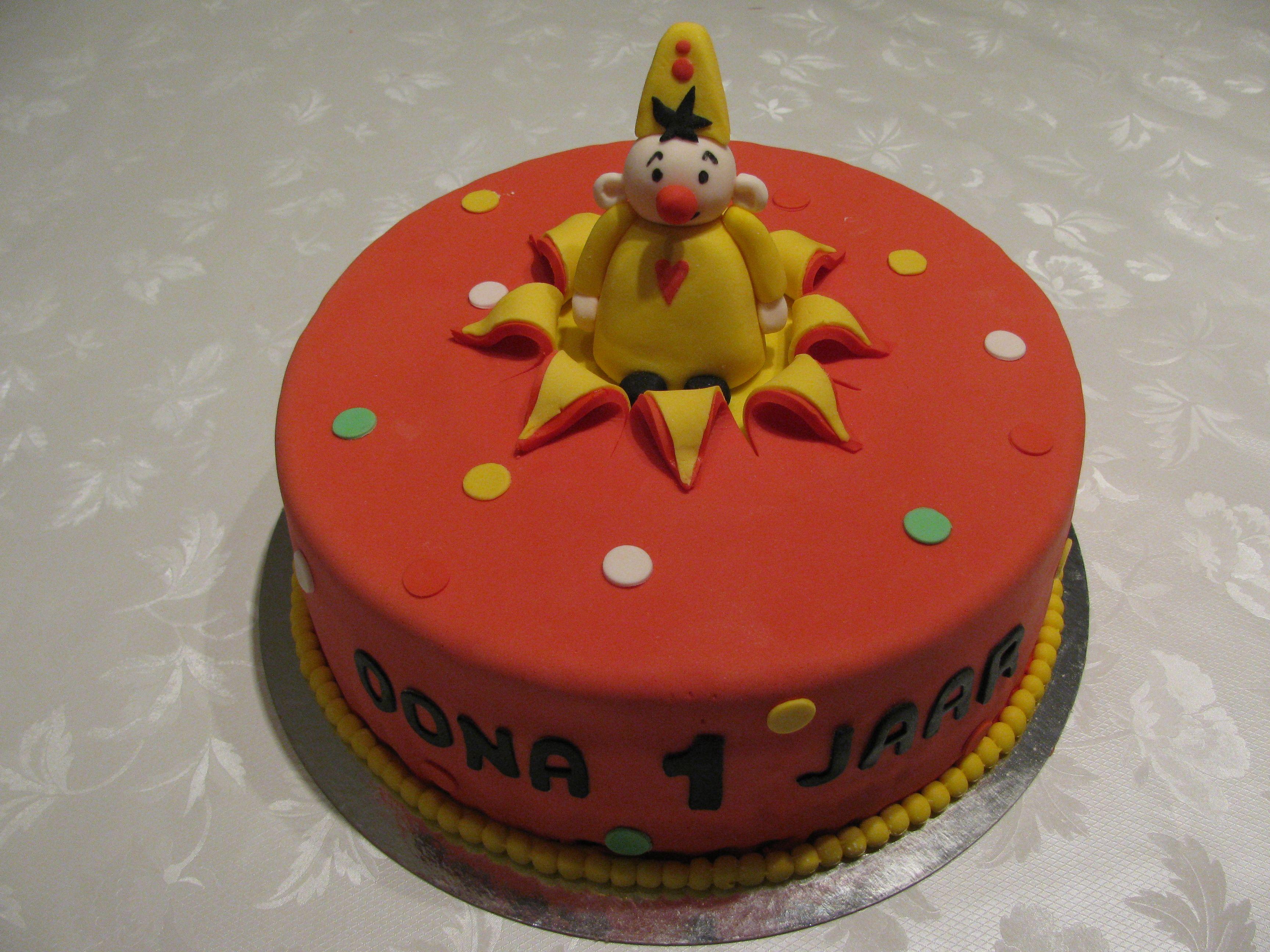 Bumba Cake Bumba Taart met Nutellabotercreme