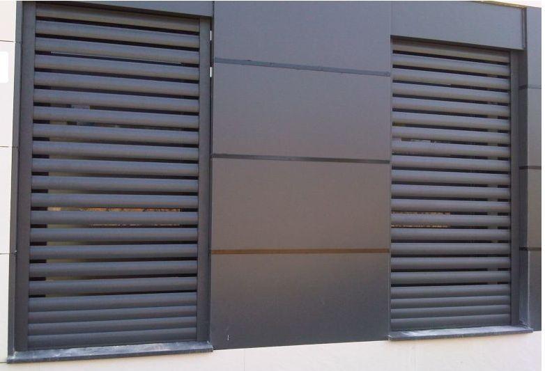 Persiana aluminio exterior corredera buscar con google - Persianas madera exterior ...