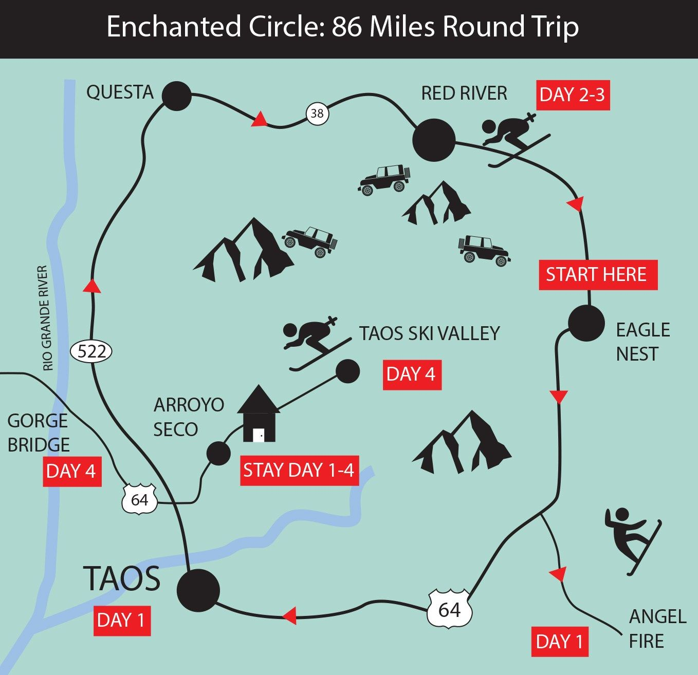 The Enchanted Circle Of New Mexico Click Through To Purchase