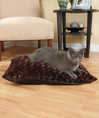 Plush Pet Bed Covers