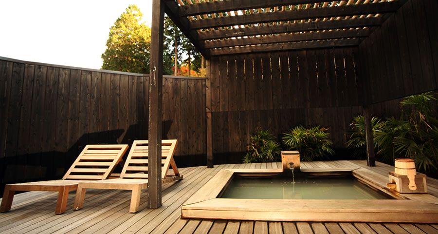 露天風呂付き客室 雲 KUMO | 箱根仙石原温泉の旅館 金乃竹