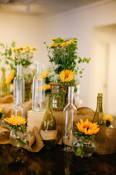 Vidros Tecido De Juta Flores Amarelas Simples Mas De Grande