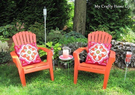 Pink & Orange in the Garden....My Lowe's Challenge — Calling it Home#calling #challenge #gardenmy #home #lowes #orange #pink